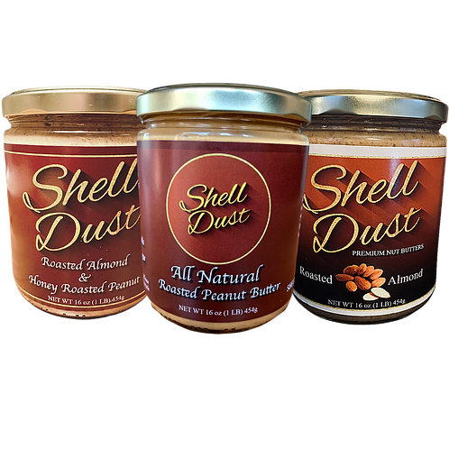 3-Pack of the Shell Dust Variety Pack