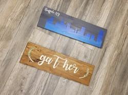 DIY Plank Sign