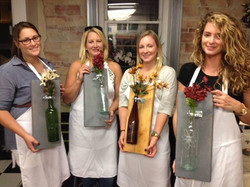 Wine Sconce Craft Party