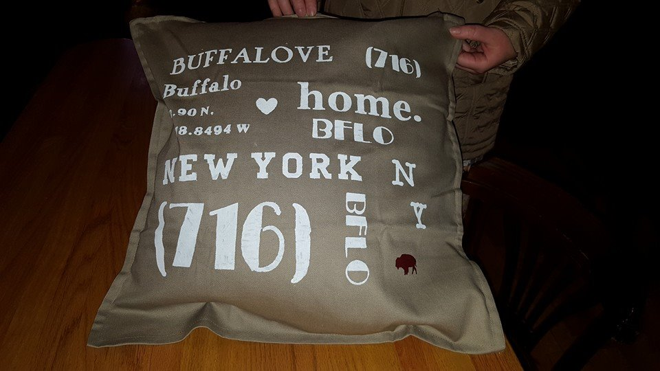 Buffalove Pillow