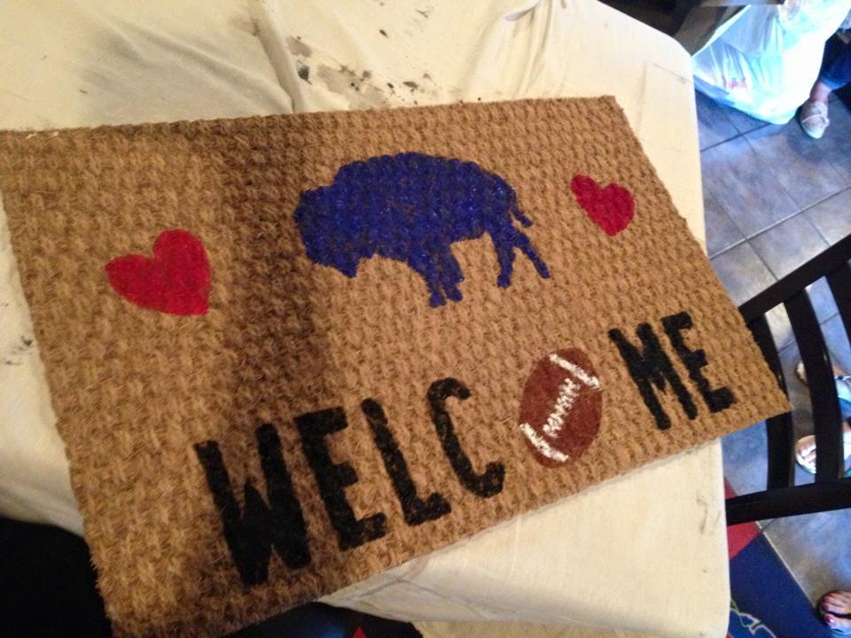 Buffalo Welcome Mat