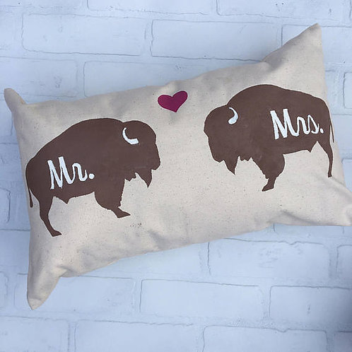 Buffalove Pillow
