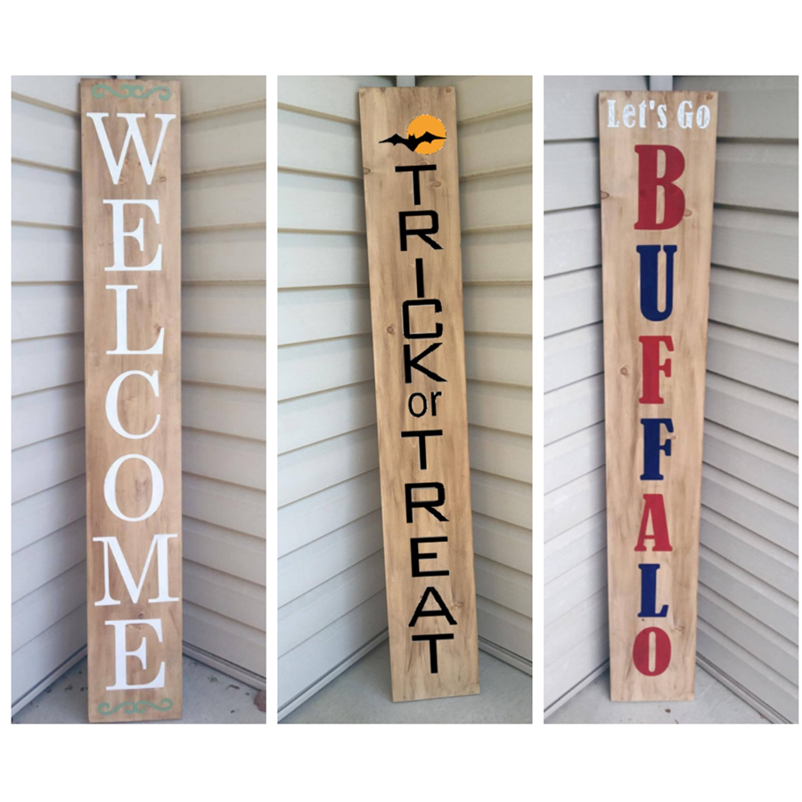 DIY Porch Signs