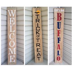 DIY Porch Signs