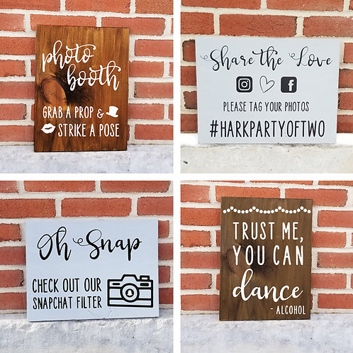 Shipped - Social Wedding Signs
