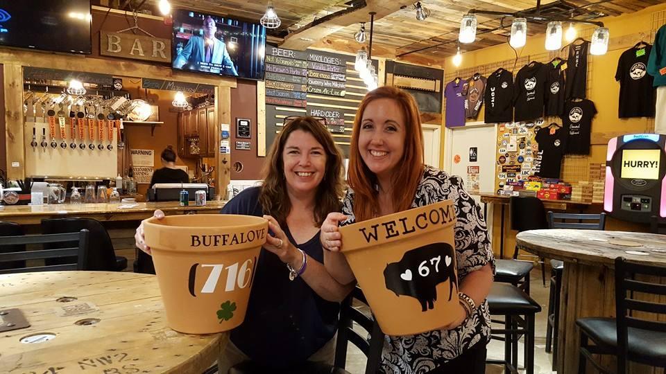 Buffalo Address Planters