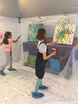 splatter room