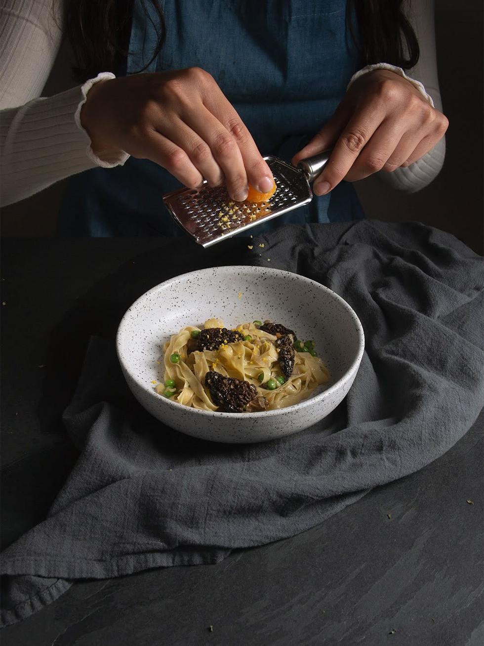 Morels Pasta