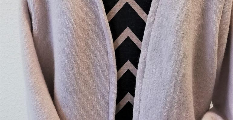 Wolljacke mit passendem Kleid
