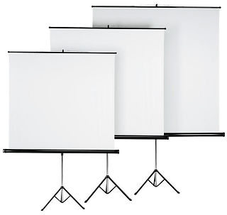 Rent Tripod projector screen different s