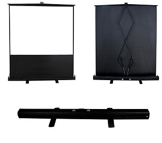 Table Top - Floor Pull Up Projector Scre