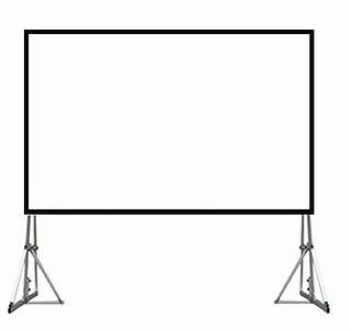 Renting Fast Fold Screen 2.3m x 3.1m (15