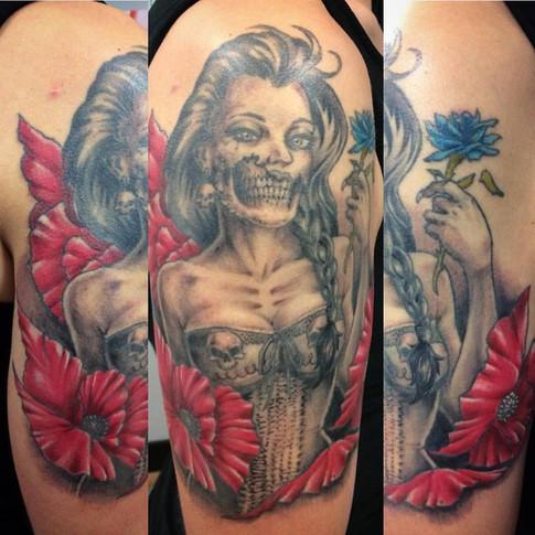 tatouage par Steve Bolduc