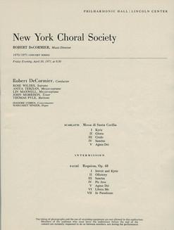 Lincoln Center 1971