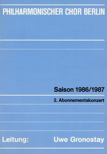 Bach Berlin 1987