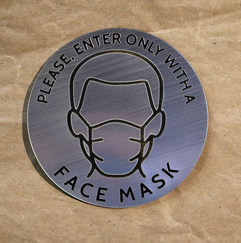 Face Mask Sign 2
