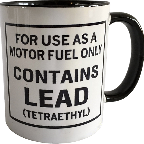 Leaded Coffee Mug
