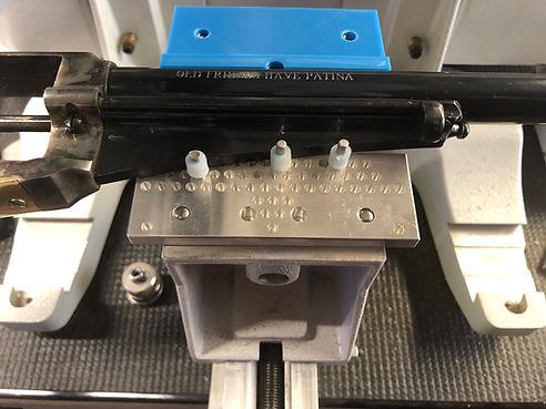 Pistol Engraving