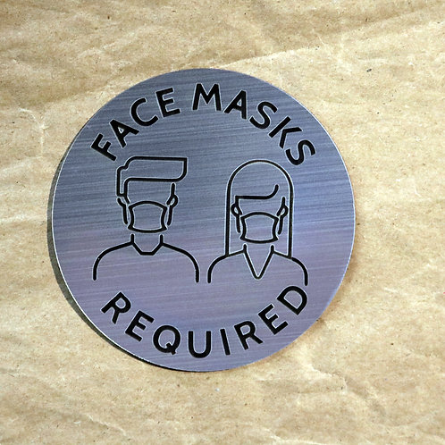 Face Mask Sign 1