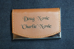 Leather Card Holder - front