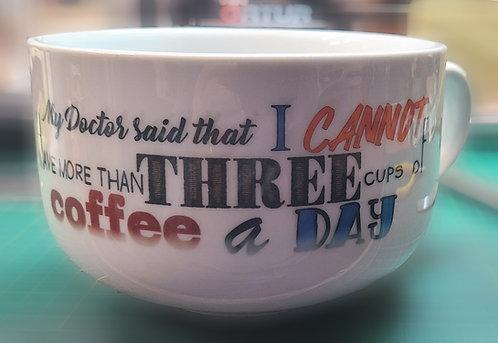 Less Coffee?