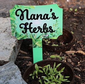 Small Garden Sign