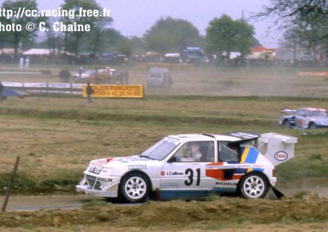 R.C. Savenay 89 205 Turbo16 P. Wambe