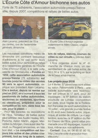Article presse 2016