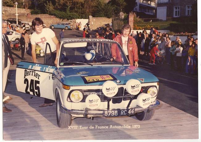 Tour De France Auto73 J.M. Jouannic Y.Taconné