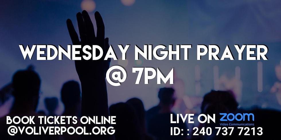 Wednesday Night Prayer