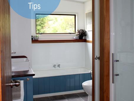 Top three bathroom renovation tips