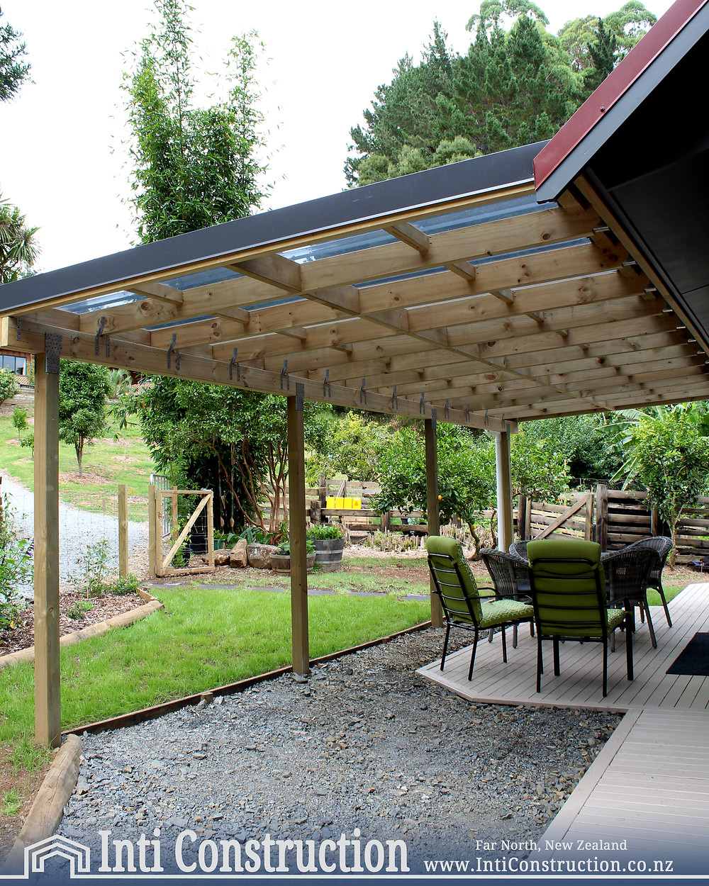 Inti Construction Quality Building Far North, NZ outdoor loving space