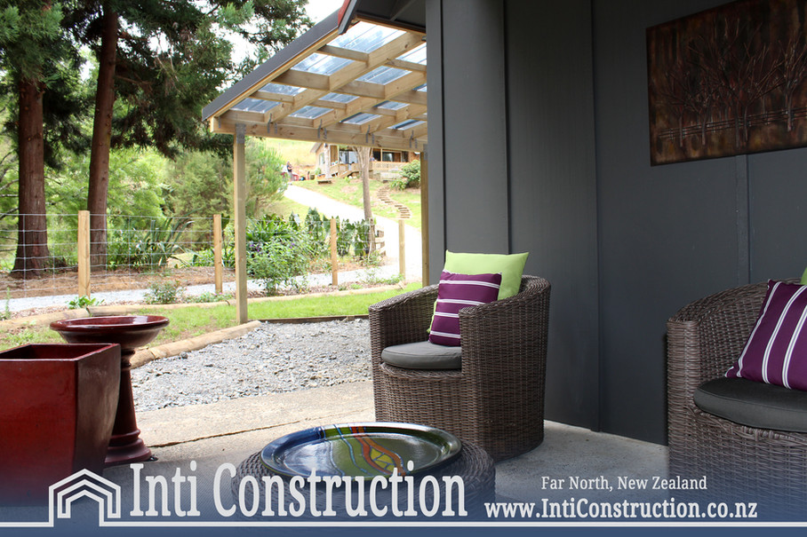 outdoor seating under roof