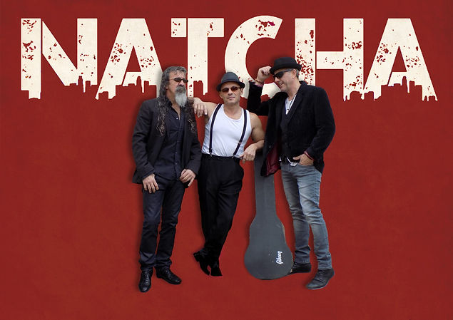 NATCHA powertrio rock blues groove