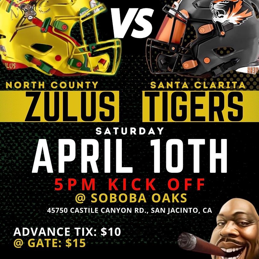 WEEK 1 •  Sat 4/10 vs. Santa Clarita Tigers