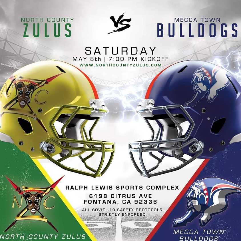 WEEK 5 •  Sat 5/8 @ Mecca Town Bulldogs