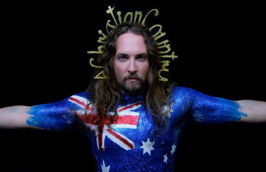 Liam Benson A Christian Country, 2011 61 x 91cm photographed by Steven Cook