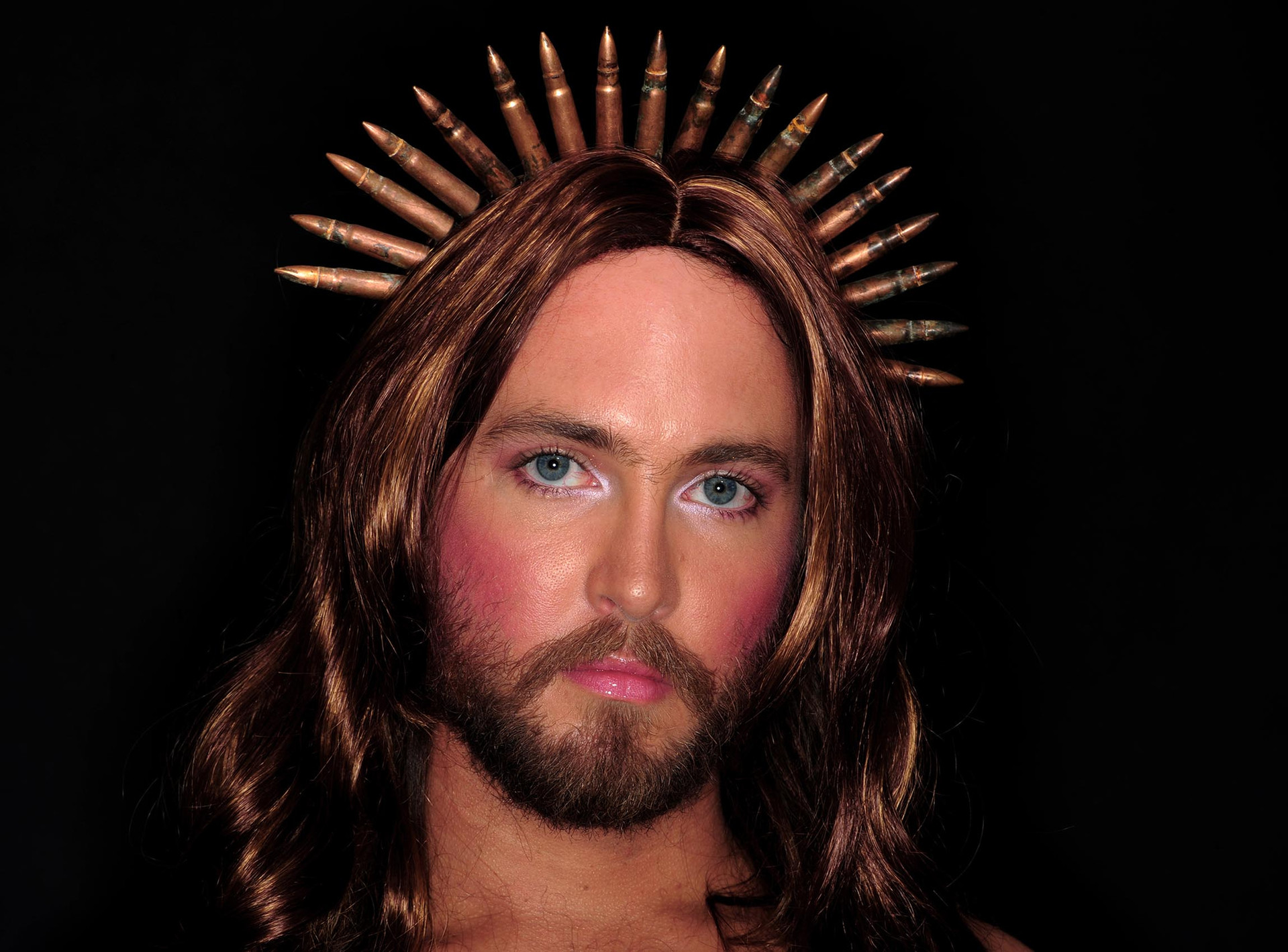Liam Benson Untitled (Jesus), 2008 61x91cm photographed by Adam Hollingworth