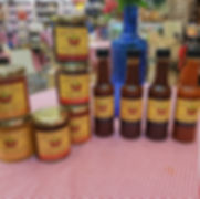 Products on our stall