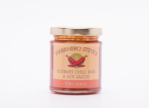 Pyro Peach Chilli Jam