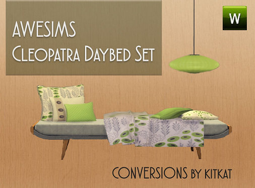 Awesims Cleopatra Daybed [3to4 Conversion]
