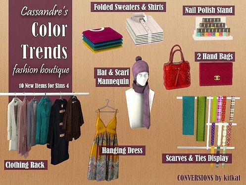 Cassandre's Color Trends Boutique