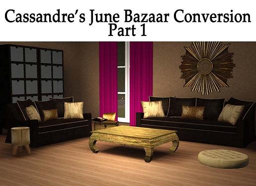 June's Bazaar Pt 1