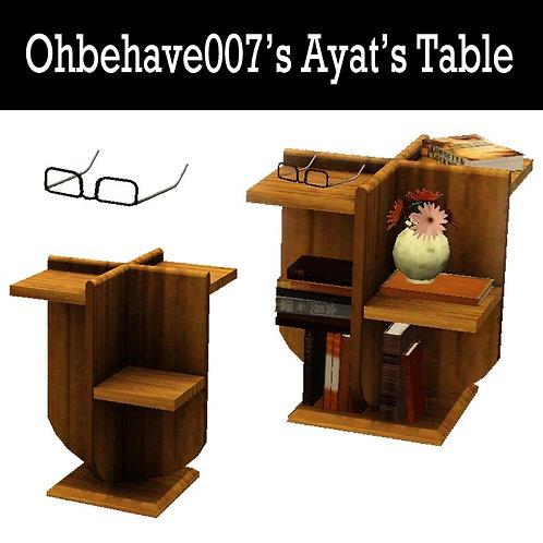Ayat's Table