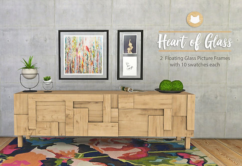 Heart of Glass Art Frames