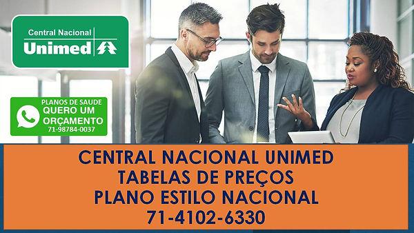 central nacional unimed plano estilo nacional