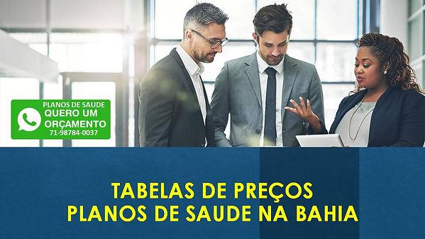 planos de saude na bahia, Tabelas Comparativas de Preços Planos de Saúde Coletivos para o estado da Bahia Bradesco Saúde, SulAmerica Saúde, Amil, Unimed CNU