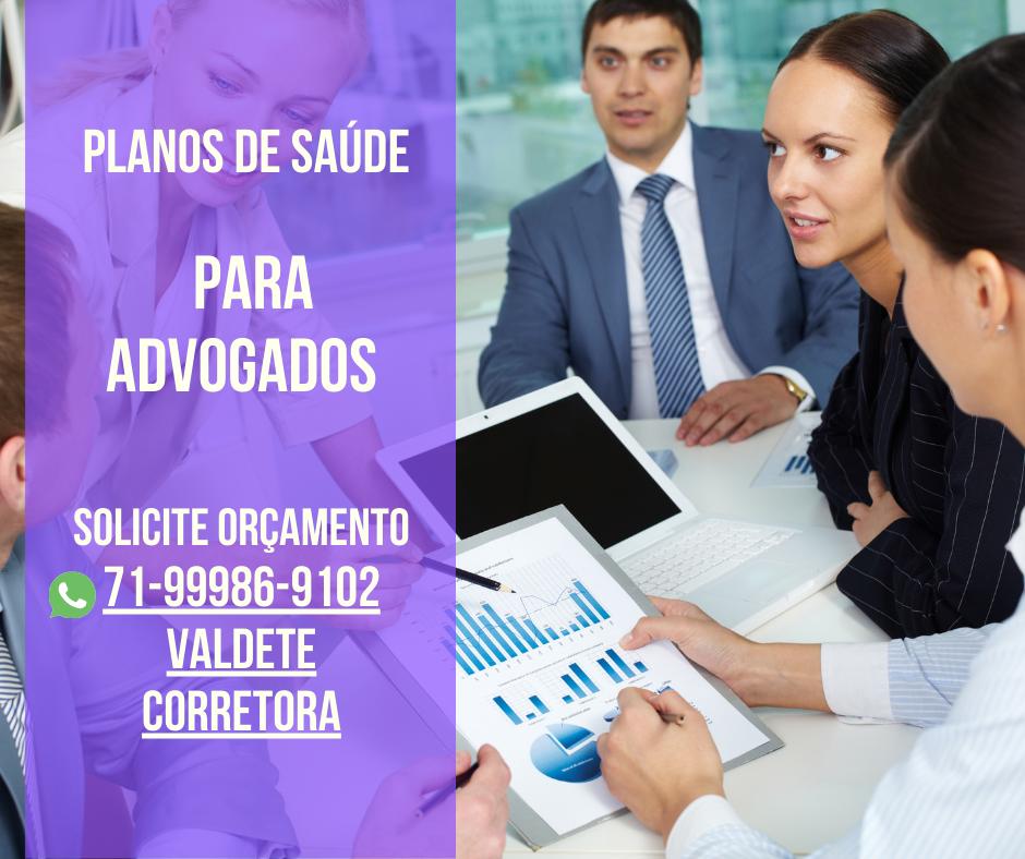 Tabelas SulAmerica Saude para Advogados