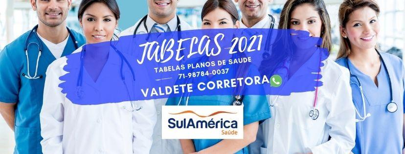 Tabelas SulAmerica Saude | Salvador-BA | Central de Vendas