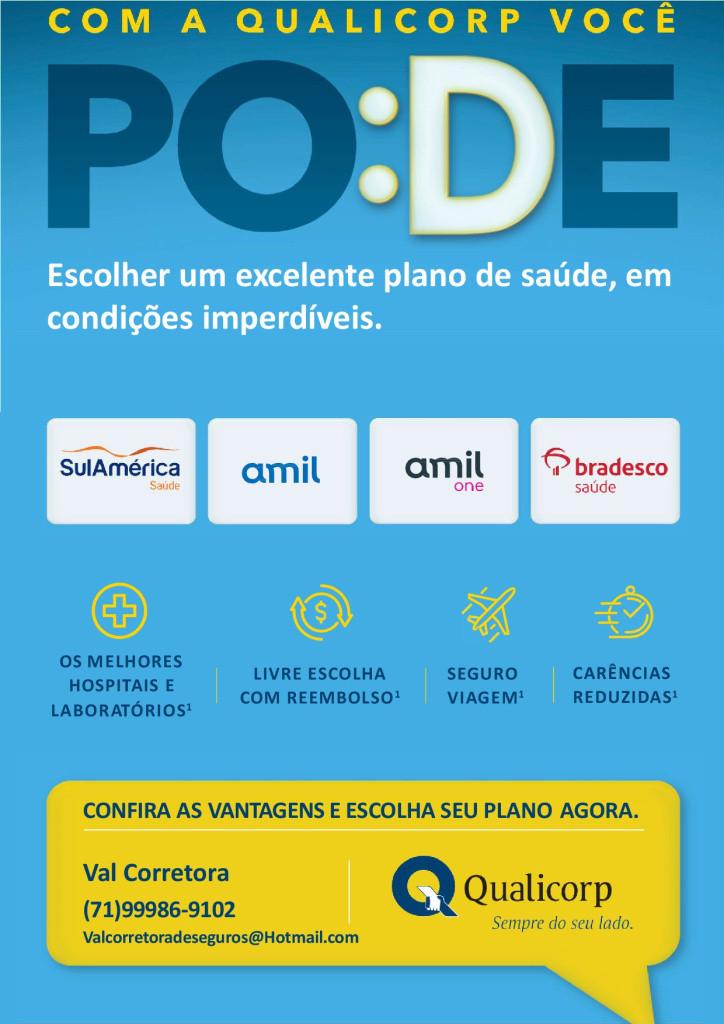 Qual é o melhor plano de saúde de Salvador? AMIL, BRADESCO SAUDE, SUL AMERICA, UNIMED